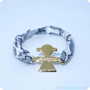 Bracelets personnalisés enfant plaqué or