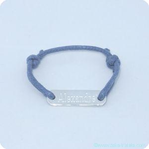 Bracelets personnalisés enfant argent