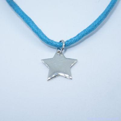 Pendentif personnalisé : l'étoile en argent