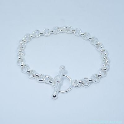 Bracelet seul argent,  épaisseur 4 mm