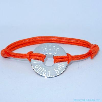 Bracelet homme, maille marine en argent