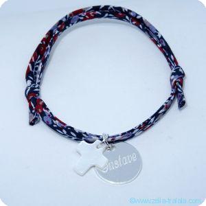 Les bracelets personnalisés catho argent