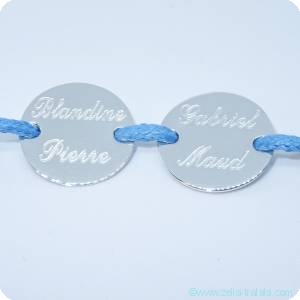 Les bracelets gravés en argent