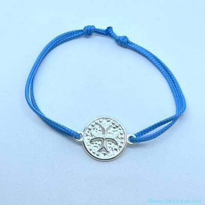 Bracelet croix celte en argent