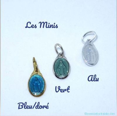 Mini médaille Miraculeuse en alu