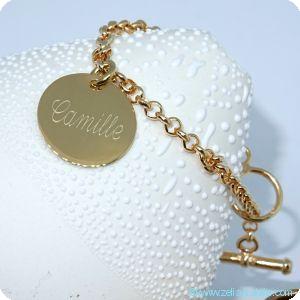 Bracelets personnalisés précieux